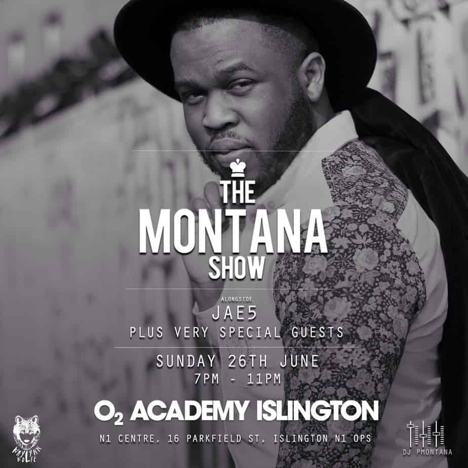 DJ P montana show live 1