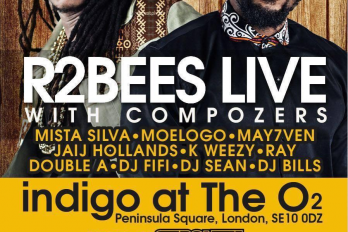 R2BEES HEADLINE AFROBEATS MUSIC FESTIVAL AT O2 IN JULY 2016
