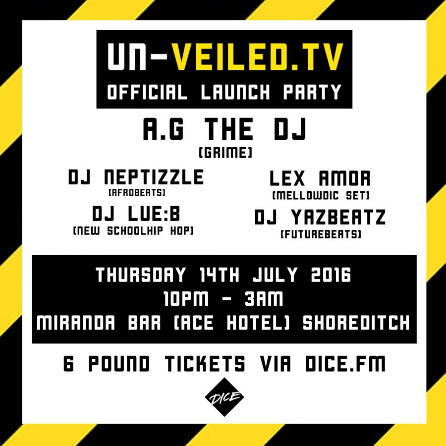UN-VEILED.TV RELEASES GRIME DOCUMENTARY AT OFFICIAL LAUNCH PARTY | @UnVeiledTV