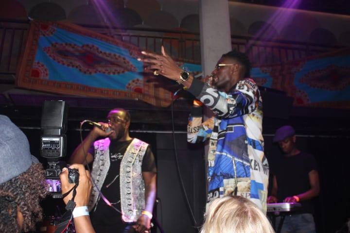 Performance at Afrobeats live