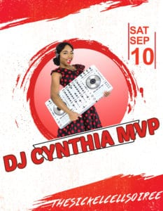 Dj Cynthia MVP-sickle-cell-soiree