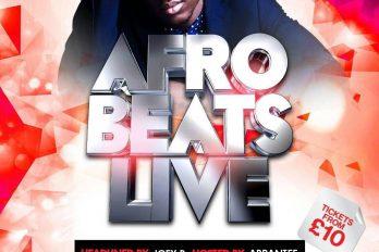 Afrobeats Live Returns to Jazz Café on Sunday 27th Nov 2016! | @afrobeatslive
