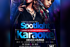 SICK EVENT! #SPOTLIGHTKARAOKE @ Deuce Lounge in Essex | @gfentspr