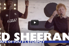 SICK! Ed Sheeran – 'Shape Of You (Remix)' Ft. Stormzy | @edsheeran @stormzy1 @CapitalXTRA