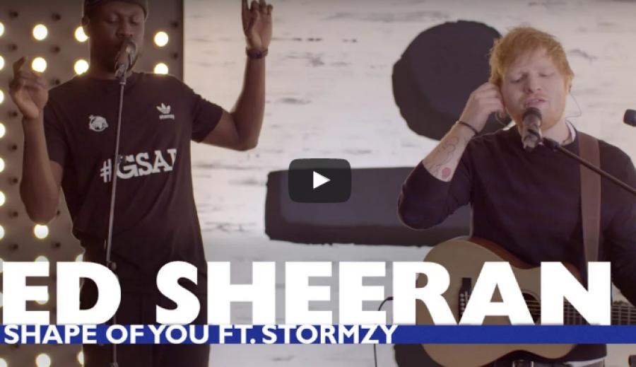 SICK! Ed Sheeran – 'Shape Of You (Remix)' Ft. Stormzy   @edsheeran @stormzy1 @CapitalXTRA