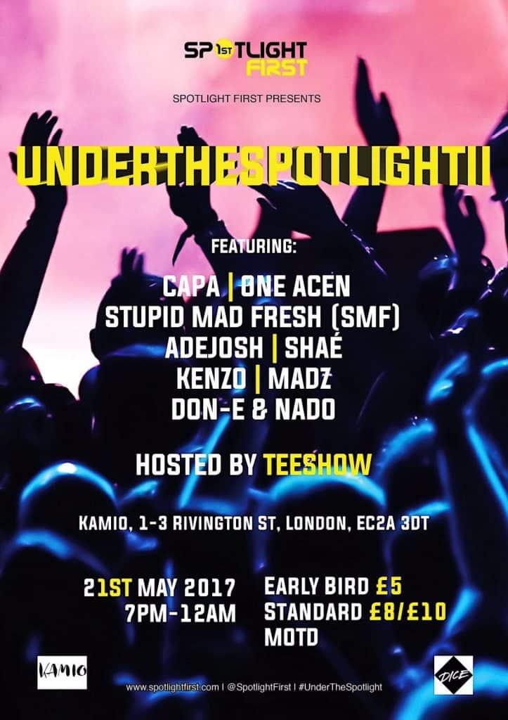 Spotlightfirst underthespotlight next event