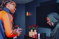 LISTEN 🌊🌊 @1future really jumped on afrobeats with @wizkidayo