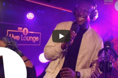 SICK! @Stormzy1 covers 'Sweet Like Chocolate' in the @1Xtra ‏ Live Lounge