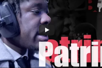 WATCH! @iampatrin drops deep bars on @WE_R_BLACKBOX [User submitted]