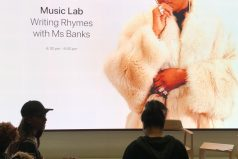 Words of Wisdom from @MsBanks94 at #TodayAtApple