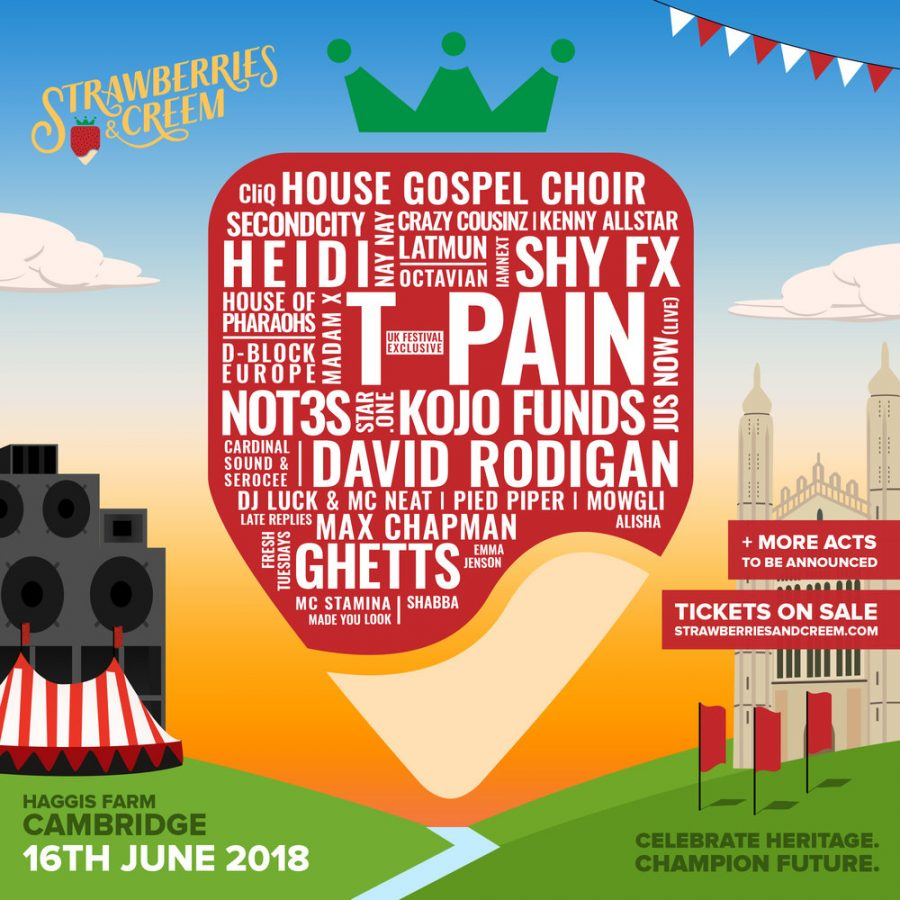 Strawberries & Creem Festival in Cambridge | June 16 2018