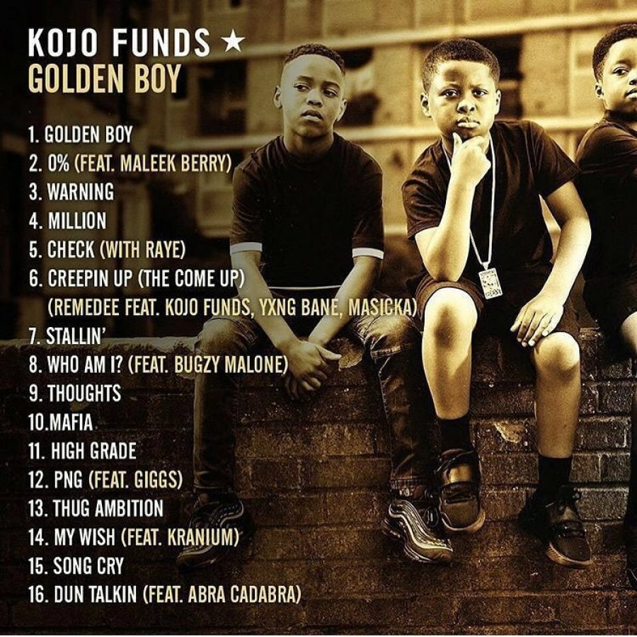 .@KojoFunds releases 'Golden Boy' mixtape – raises some interesting questions