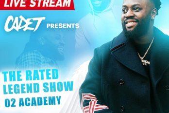 LIVE STREAM – Cadet Rated Legend Show