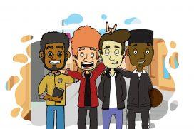 Hilarious British Animated Sitcom 'Degree' Documents Life As Uni Student