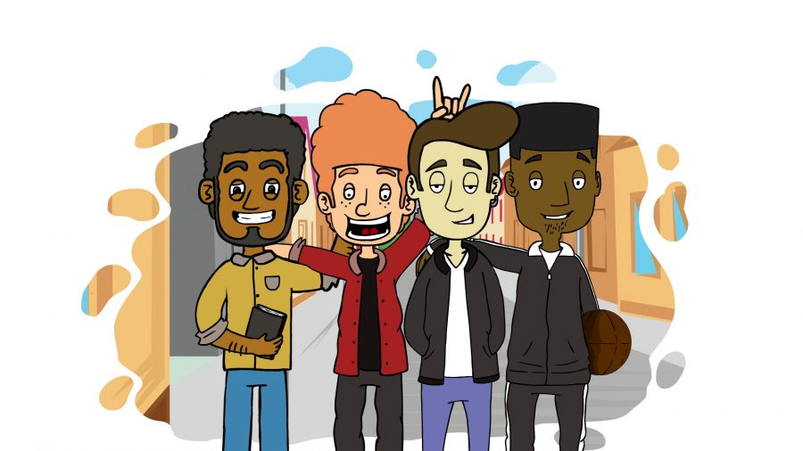 Hilarious British Animated Sitcom 'Degree' Documents Life As Uni Student