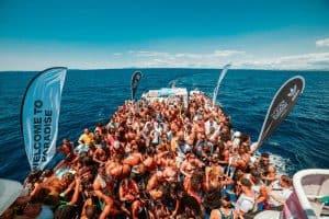 Fresh Island week boat party