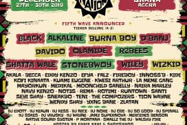 Afro Nation Ghana Add Wiley, Sneakbo, Seyi Shay & MORE