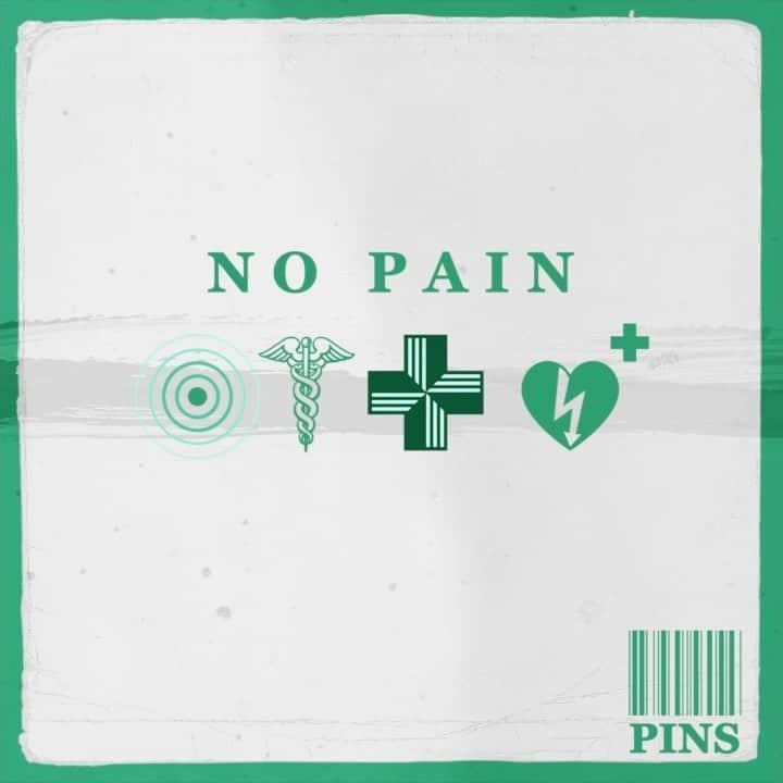 Pins - no pain - artwork