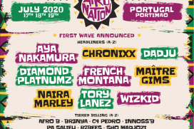 Afro Nation Portugal 2020 Announce First Wave Of Acts