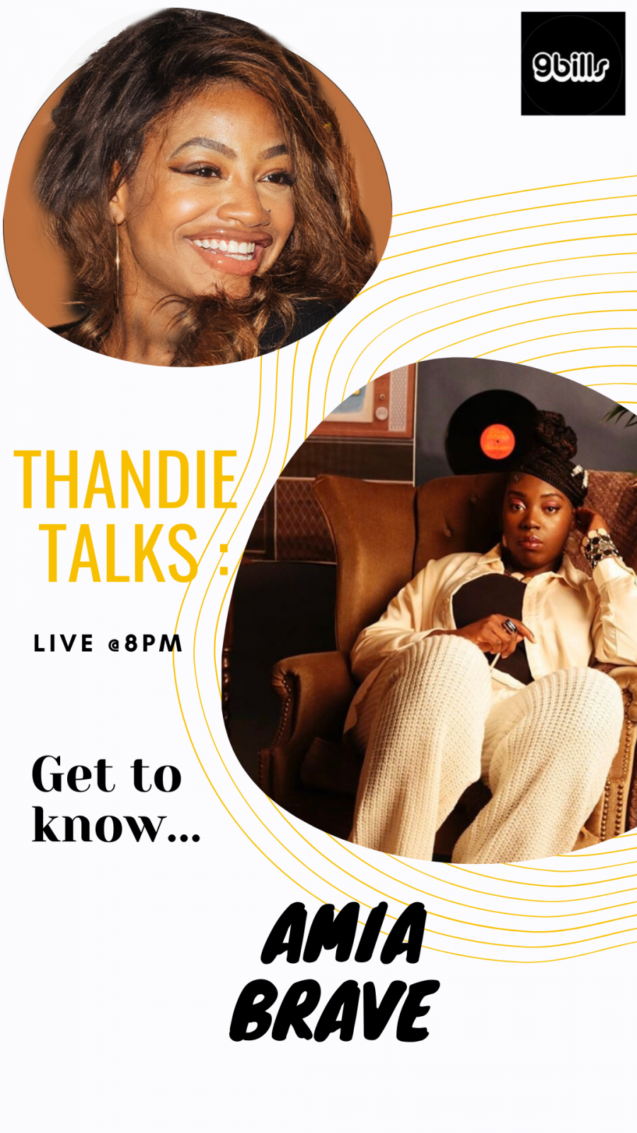 Thandie Talks: Amia Brave talks self confidence and her latest single Young and Misguided   @AmiaBrave