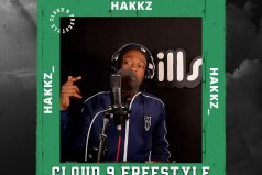 HAKKZ COVERS 50 CENT & THE GAME'S CLASSIC 'HATE IT OR LOVE IT' ON NEW 'CLOUD9' FREESTYLE | @hakkz_